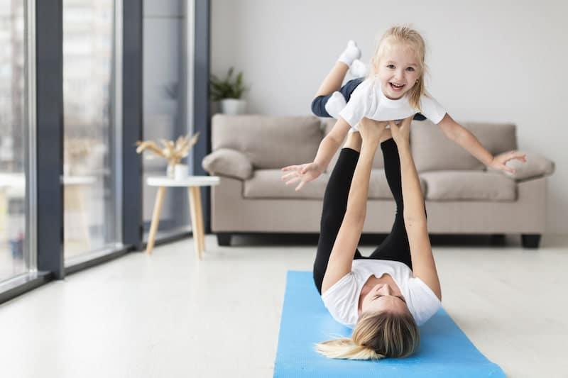 lavorare da casa con figli