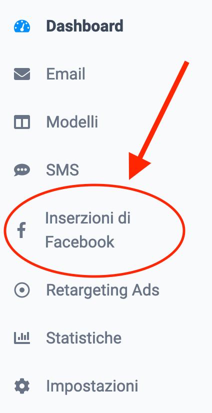 Inserzioni Facebook sendinblue
