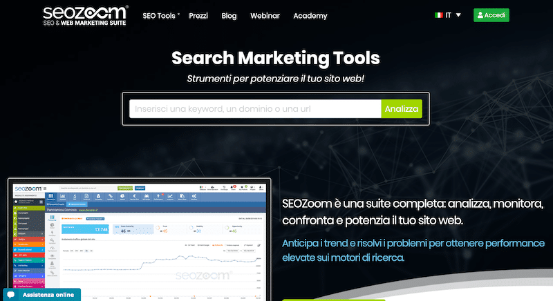 seozoom homepage