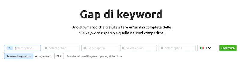 gap di keyword