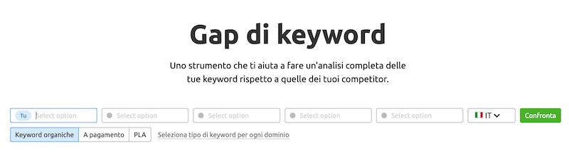 gap di keyword