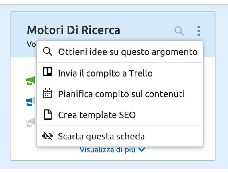 semrush topic research dettaglio