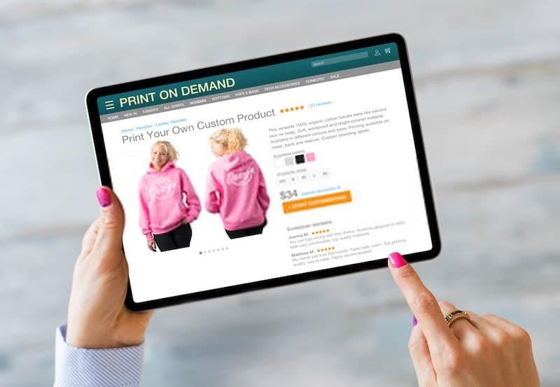 Aprire uno store online di print-on-demand