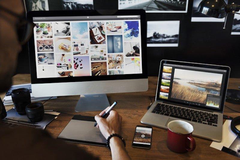 Diventare fotografo per il web