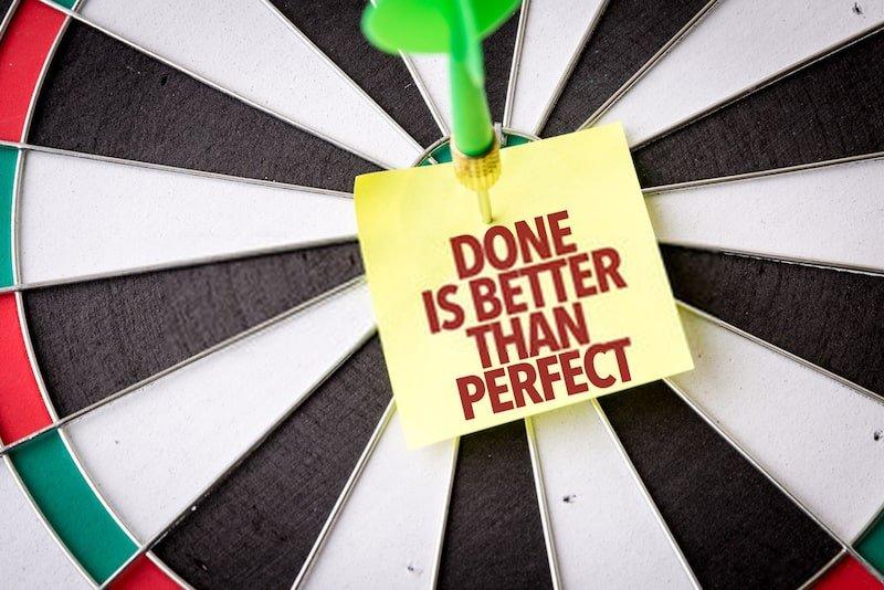Non cercare la perfezione
