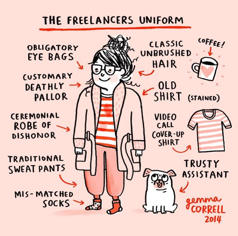 abbigliamento freelance