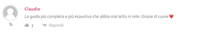 commenti blog