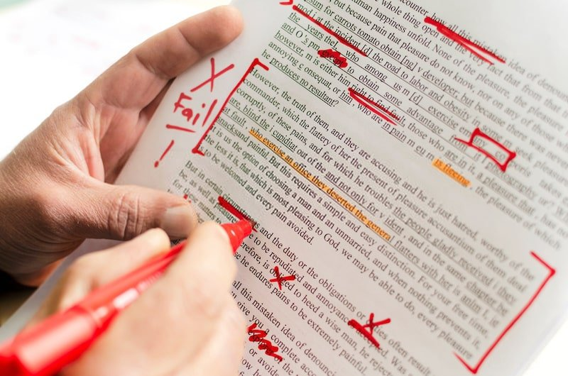 Scrivere articoli poco curati