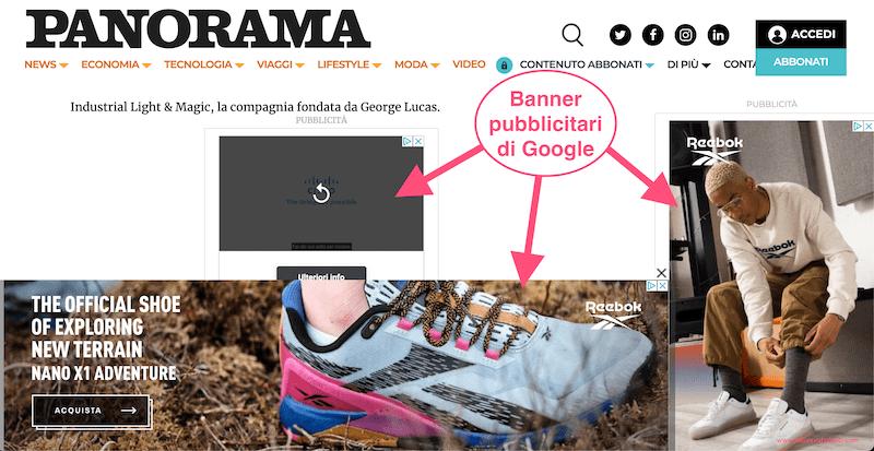 Google campagna display